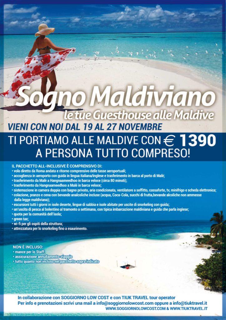 Maldive low cost soggiorno low cost for Soggiorno alle maldive